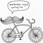 Cycling Moustache